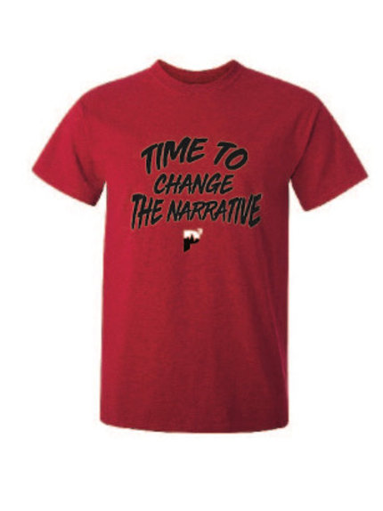 "P3 ""Time To Change The Narrative""t-shirt"