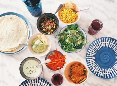 My favorite Veggie Fajitas + a Clean Margarita Recipe!