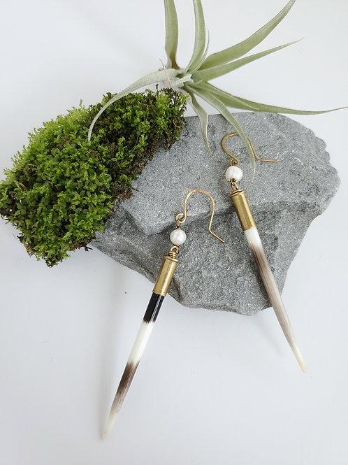 Porcupine Pearl Earrings