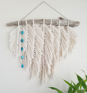 I'm in love with this feathery bohemian