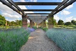 Taplow Court, Garden arrangement UK