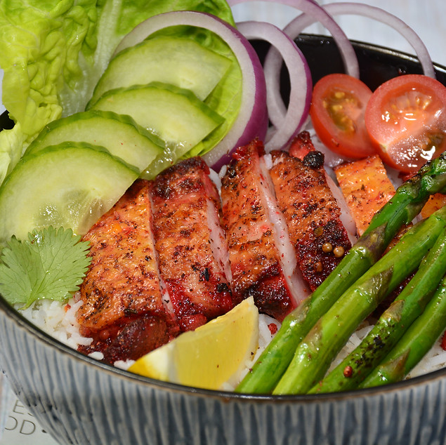 Chicken Teriyaki with Aspargus