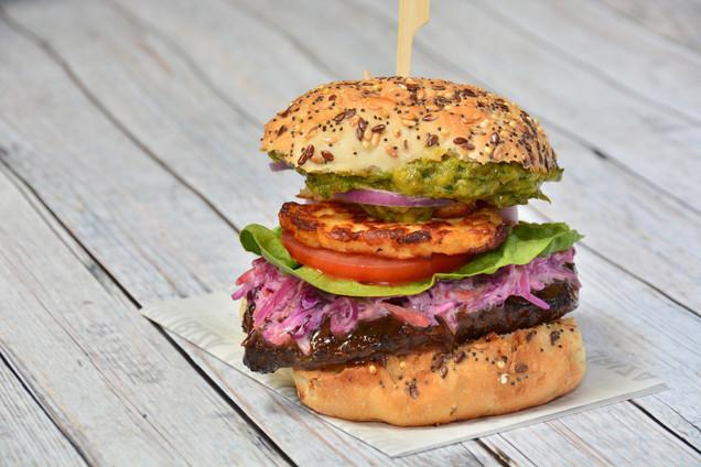 Mega Veg Burger