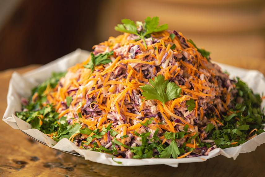 Mixed Coloful Salad