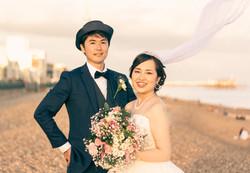 Couple shoot - Brighton Pier