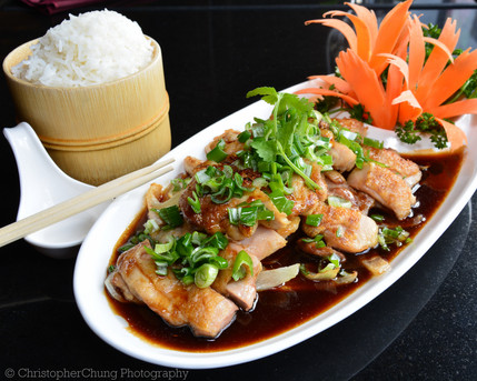 Gaab Kao - Terayaki Chicken Special