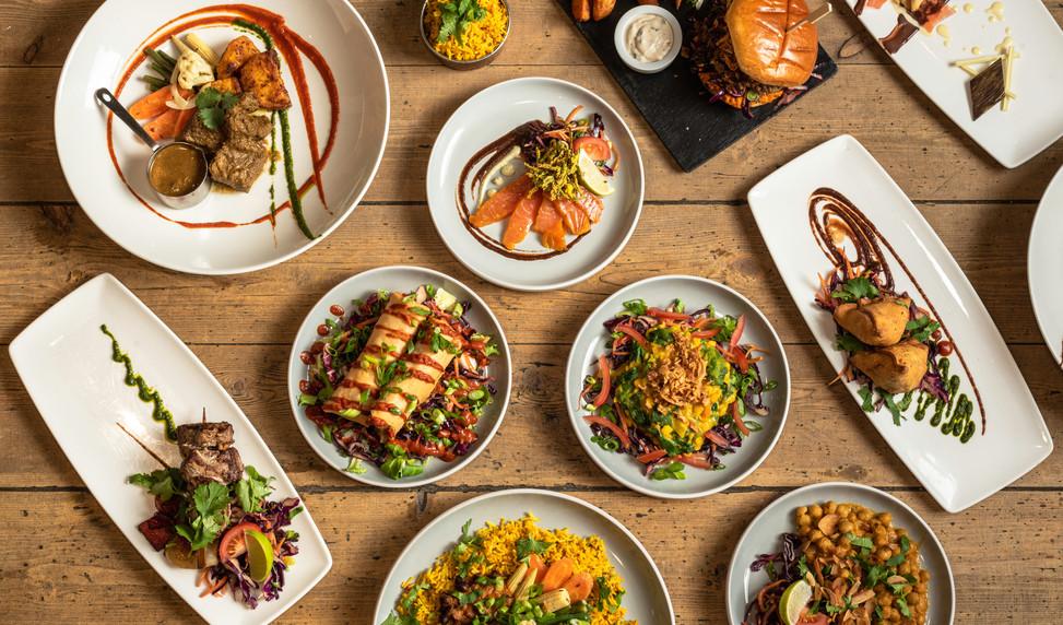 Indian/European Infused cuisine