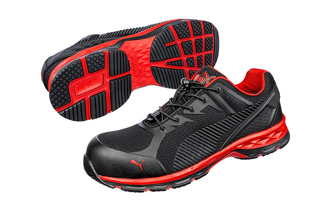 Puma Safety Relay Black/Red