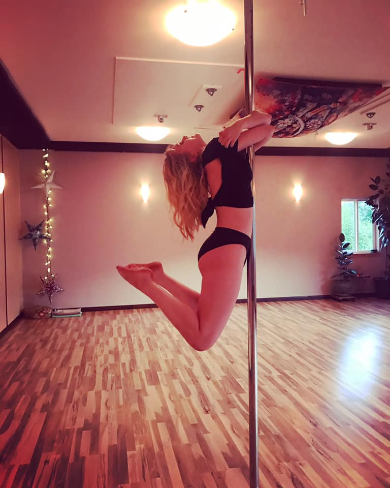 Beginner Pole Fitness; Sunday at 230pm