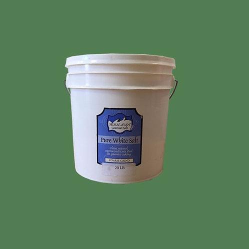 Himalayan Gourmet Salt White Coarse 20lb