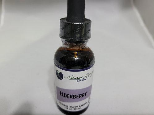 Elderberry Liquid Extract 1oz