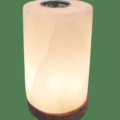 Himalayan Salt Lamp White Cylinder Diffuser