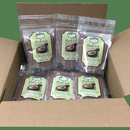 Himalayan Gourmet Salt Black salt 200g 24 bags