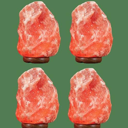 Himalayan Salt Lamp Natural Pink Small 4 units (10-12 lbs each)