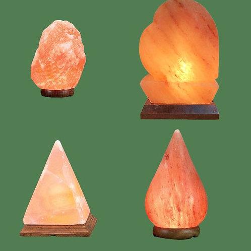 Himalayan Salt Lamps 1 Micro + Heart + Pyramid + Tear Drop