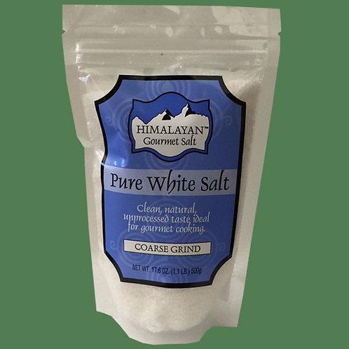 Himalayan Gourmet Salt White Coarse 500g