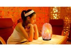 Himalayan salt lamps can be therapeutic