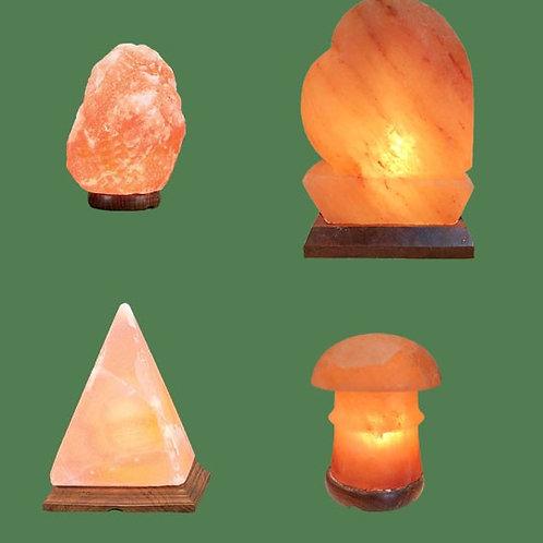 Himalayan Salt Lamps 1 Micro + Heart + Pyramid + Pagoda