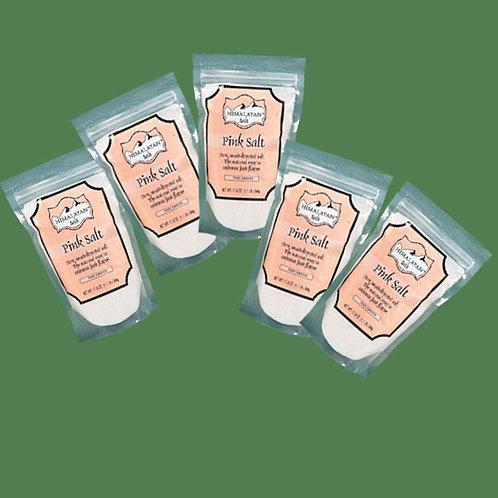 Himalayan Gourmet Salt Pink Fine 500g - 5 bags