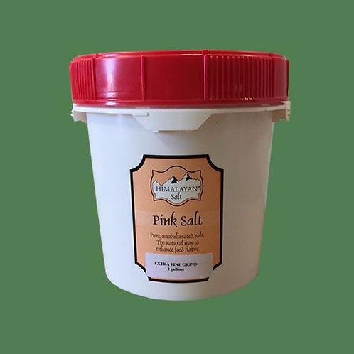 Himalayan Gourmet Salt Pink Fine 25lb