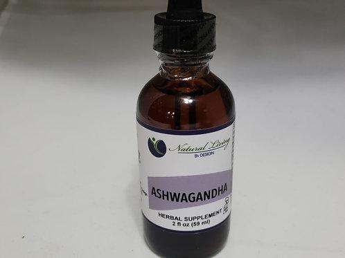 Ashwagandha Liquid Extract 2oz