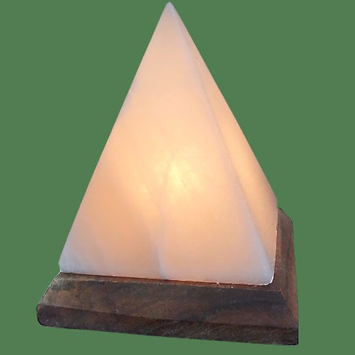 Himalayan Salt Lamp White Pyramid