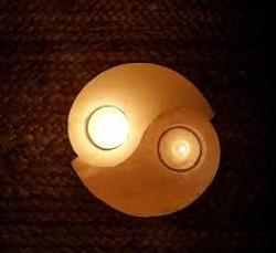 Himalayan Salt Ying Yang Candle Holder2.