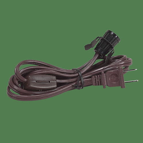 Replacement Power Cord with switch and socket