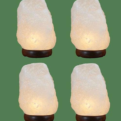 Himalayan Salt Lamp Natural White Med I (4)