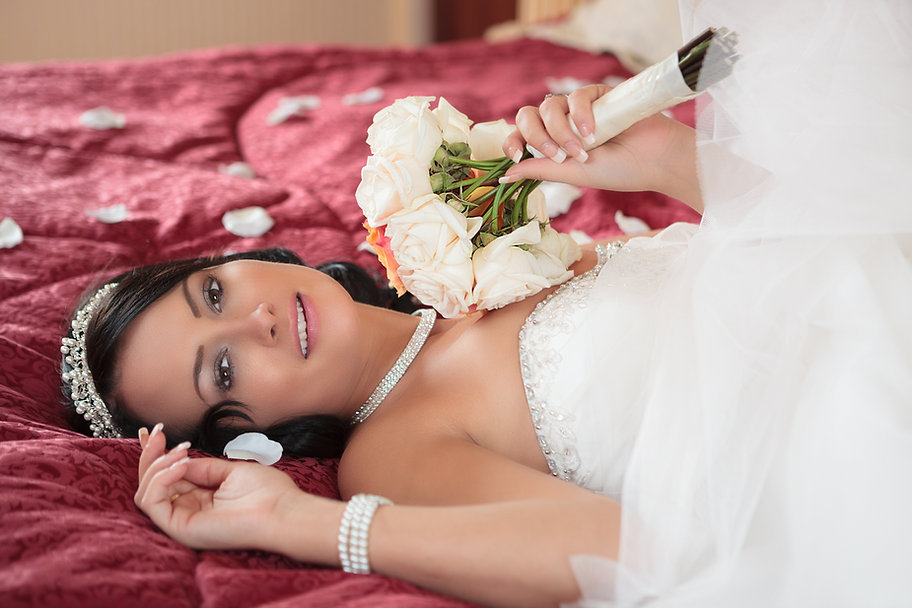 Kelli Wedding Portrait