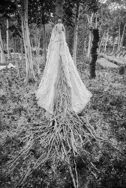 Adrianna Dinulescu's installation