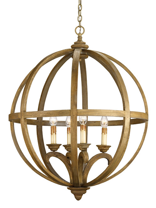 Axel Large Orb Chandelier