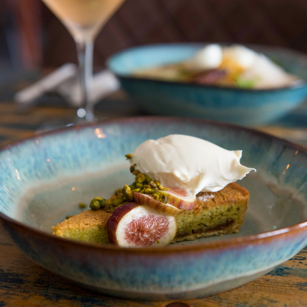 Fig & Pistachio Tart