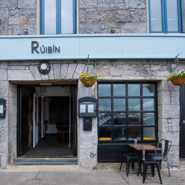 Front Entrance to Rúibín