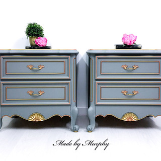 The Rising of Vesta Bedside Tables