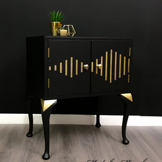 Salvador Soundwave Record Cabinet
