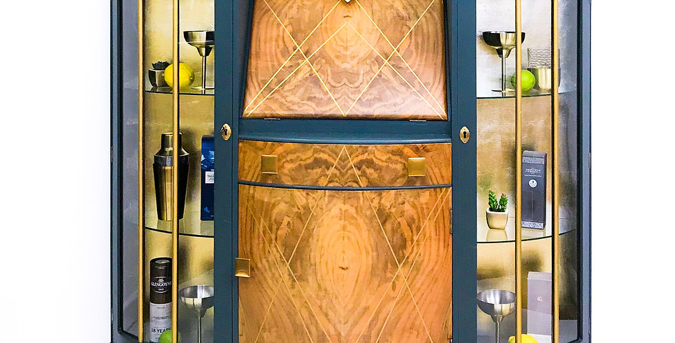 Vincent Art Deco Drinks Cabinet