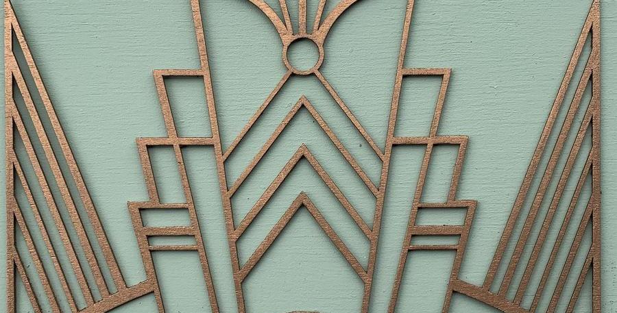 Decadent Deco Wooden Inlay/Onlay
