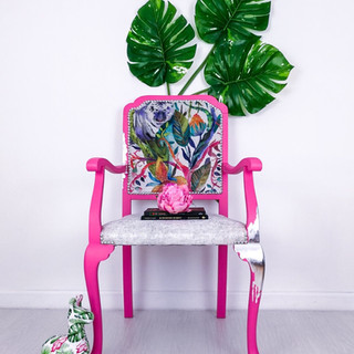 Jungle Jane Statement Chair