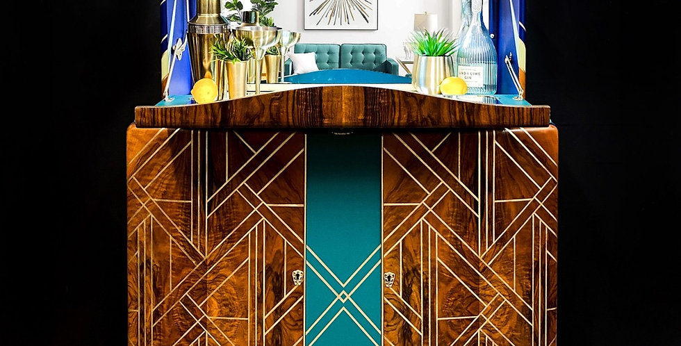 Rainey Art Deco Cabinet