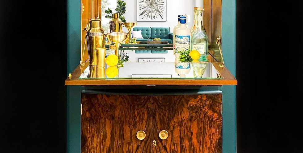 Edgar Drinks Cabinet Cocktail Bar