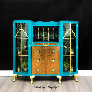 Princess Peacock Drinks Cabinet