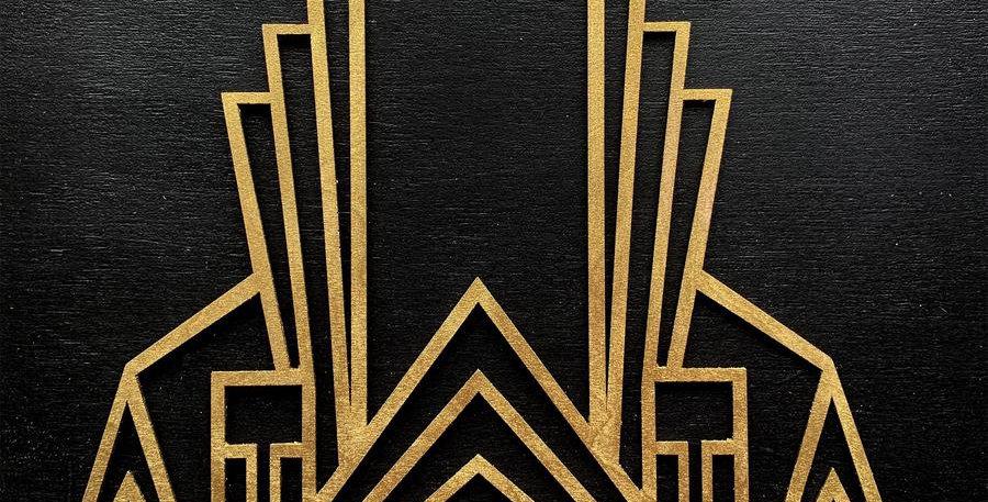Gatsby Glitz Wooden Inlay/Onlay