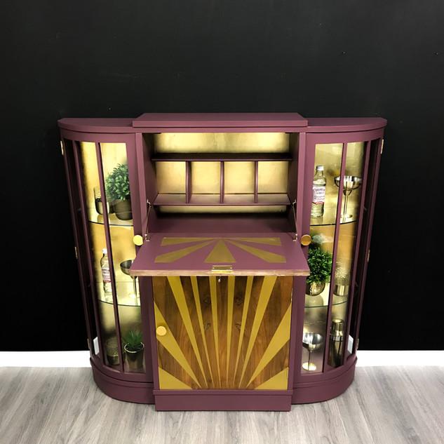Jessica Drinks Cabinet