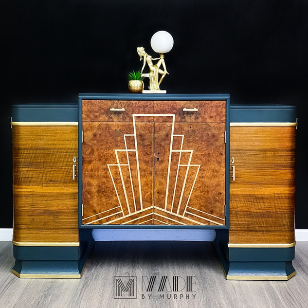 Candy Art Deco Sideboard