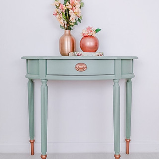 Rosie Half Moon Console Table