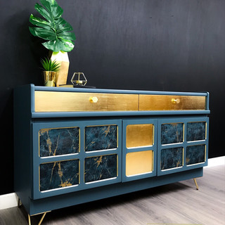 Isaac Sideboard with Record Storage
