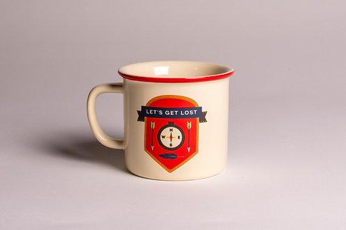 Let's Get Lost | Tin Mug