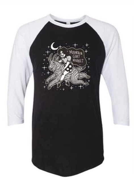 Into the Stars - Raglan Tee