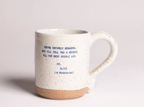 Alice in Wonderland | Quote Mug